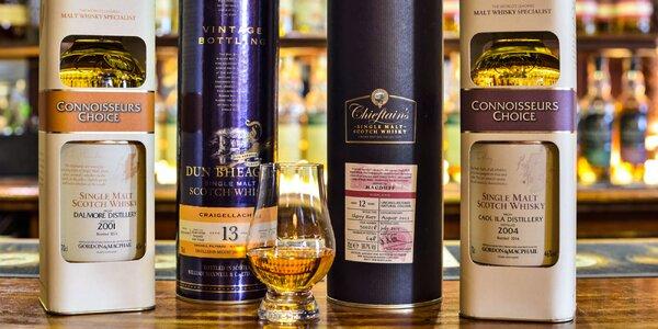 Degustácia whisky s odborným výkladom