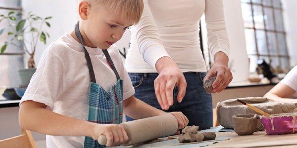 Zážitkové kurzy keramiky. Tvorivé kurzy aj pre deti!