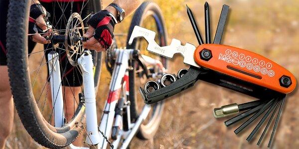 Sada 17 kvalitných kľúčov pre cyklistu