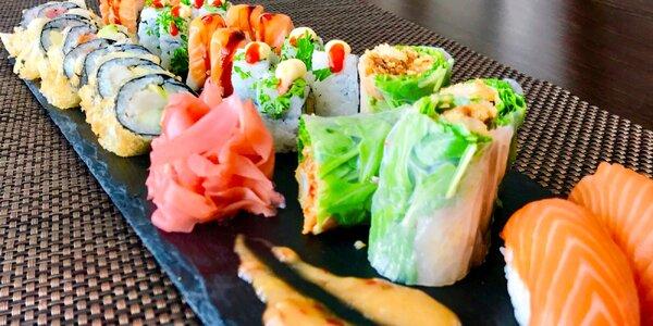 SUSHI set (32 kúskov) vo Wasabi Sushi Bare