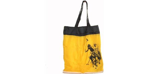 Dámska žltá skladacia taška U.S. Polo