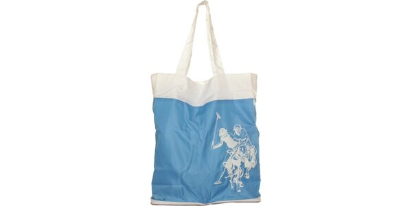 Dámska svetlo modrá skladacia taška U.S. Polo