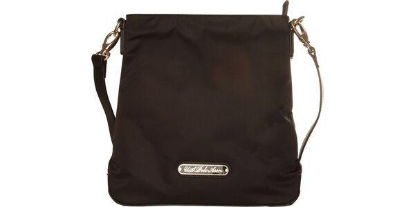 Menša dámská čierna kabelka U.S. Polo
