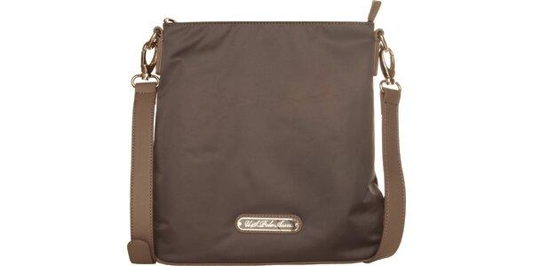 Menša dámská hnedá kabelka U.S. Polo