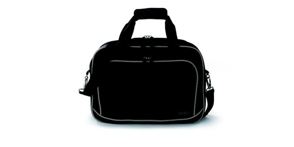 Dámska čierno-béžová taštička do lietadla Esprit