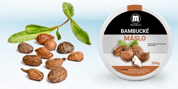 200 gramov bambuckého masla pre starostlivosť o pokožku