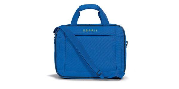 Dámska modrá taštička do lietadla Esprit