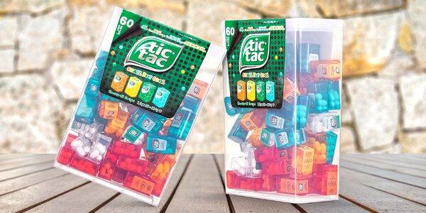 Obrie balenie Tic Tac: 60 krabičiek, 4 príchute