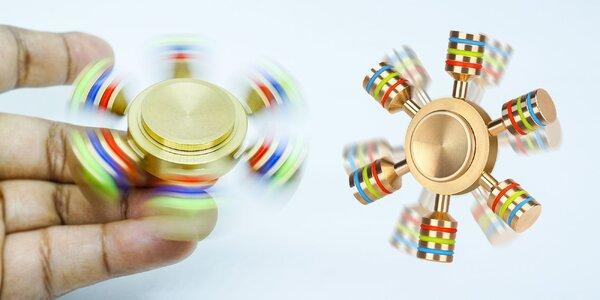 Štýlový Fidget Spinner v tvare kormidla