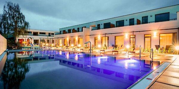 Leto s bazénom a wellness v nových Apartmánoch Moravica***