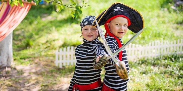 Denný pirátsky detský tábor plný zážitkov