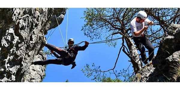 Kurz lezenia na skalách v Nízkych Tatrách