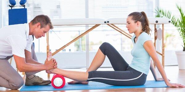 Užite si masáže či cvičenia s fyzioterapeutom