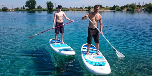 Paddleboard tréning s inštruktorom