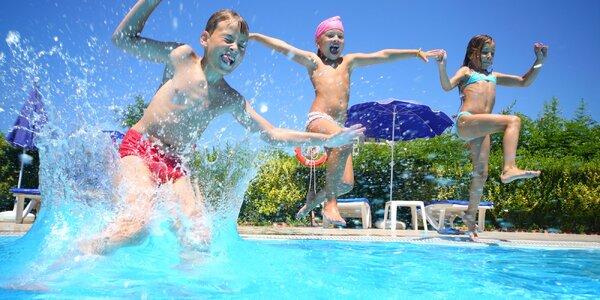 Vstup na letné kúpalisko pre malých i veľkých