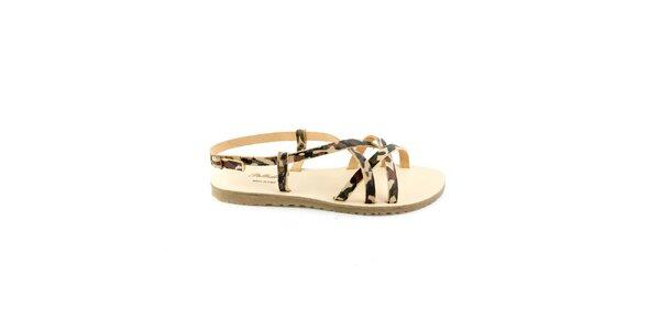 Dámske maskáčové sandále Pelledoca