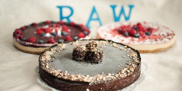 Chutné a zdravé BIO RAW torty