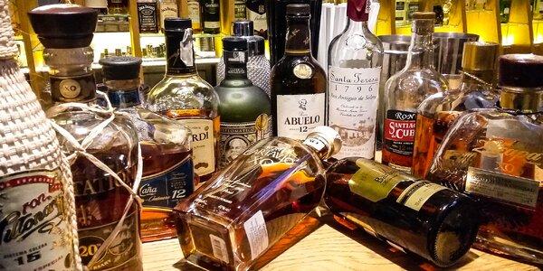 Ochutnávka rumov v Rotunda Spiegelsaal