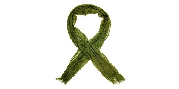 Dámska zelená šatka Nice Things