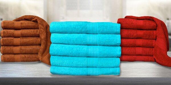 Luxusne hebké osušky a uteráky zo 100 % bavlny