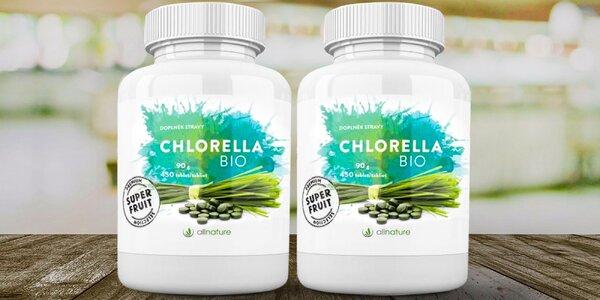 Tablety Bio Chlorella pre zdravie a pohodu vášho tela