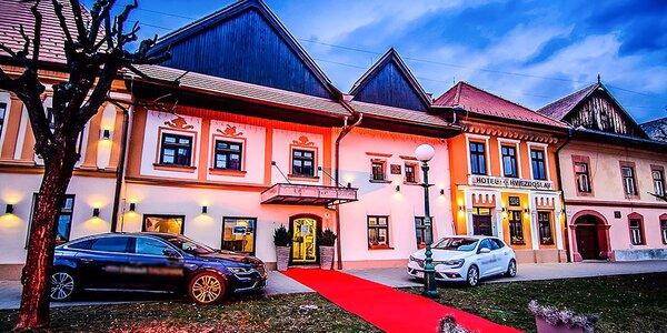 Bohatý pobyt v kežmarskom hoteli Hviezdoslav!