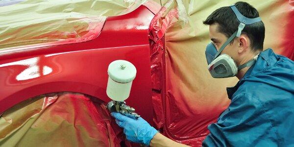 Lakovanie náhradného dielu vášho auta