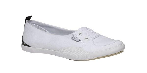 Dámske biele športové baleríny TBS