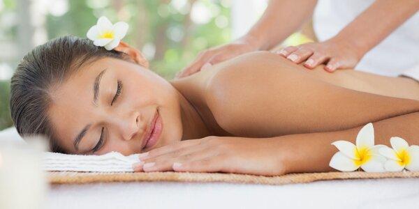 Klasická celotelová alebo banková masáž