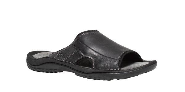 Pánske čierne papuče TBS