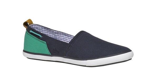 Pánske modro-zelené topánky TBS