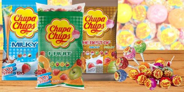 Chupa Chups: balíčky plné obľúbených lízaniek