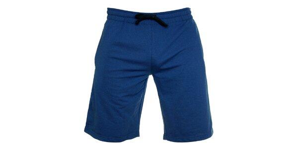 Pánske žiarivo modré športové bermudy Chaser