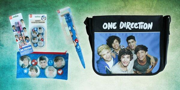 One Direction taška a školské pomôcky