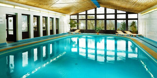 Jeseň v Špindlerovom Mlyne: hotel Astra s bazénom