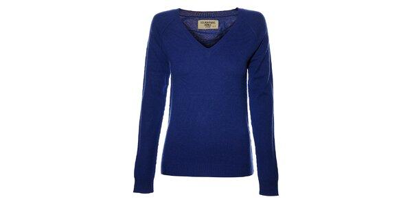 Dámsky modrý kašmírový sveter Eleven Paris