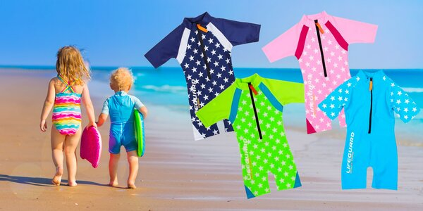 UV Detský overal s ochranným faktorom UPF 50+