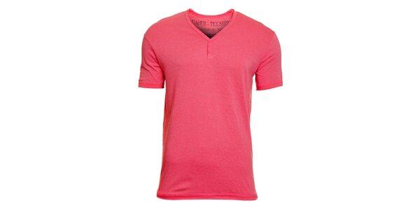 Pánske ružové tričko Chaser
