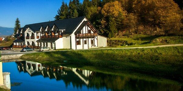 Jesenný pobyt na Liptove s možnosťou aquaparku alebo s relaxom vo wellness…