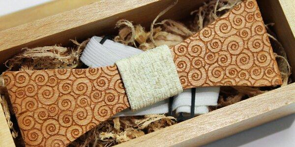 Trendy drevené motýliky - aj pre deti!