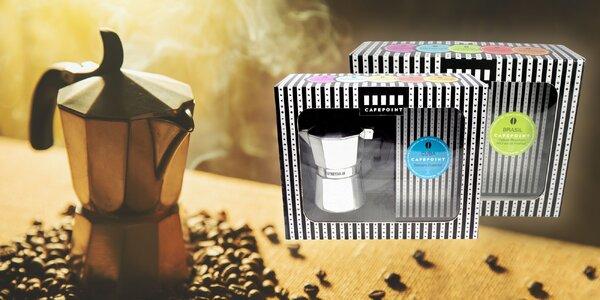 Darček pre všetkých kávičkárov! Kávovar a exkluzívna káva