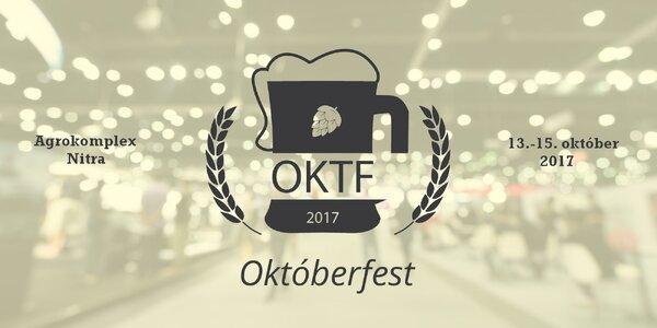 Pravý Októberfest prvýkrát v Nitre