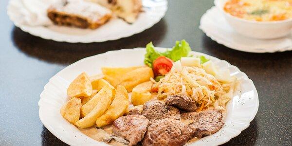 Trojchodové menu v reštaurácii Umbria
