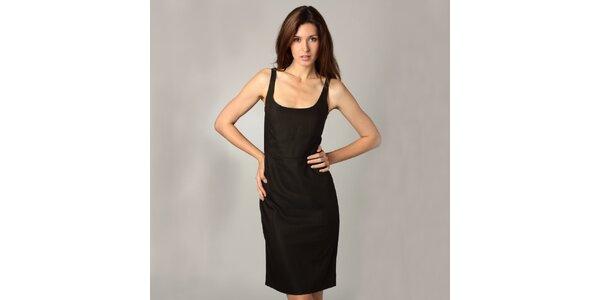 Dámske čierne šaty Caramelo