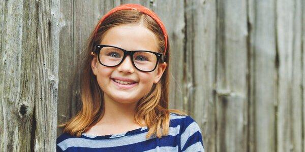 Detské dioptrické okuliare na počkanie