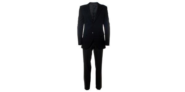 Pánsky čierny oblek Caramelo