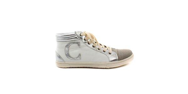 Pánske krémovo-béžové topánky Caramelo