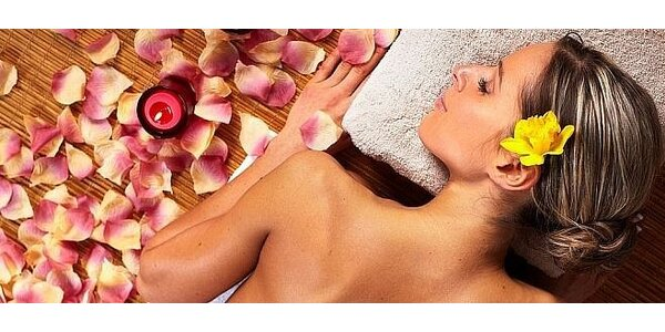 45 minútová Havajská masáž s aromaterapiou