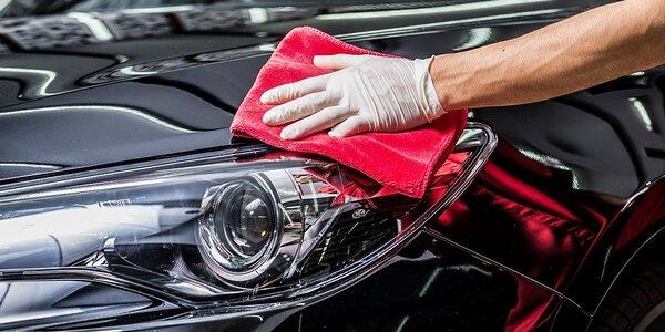 Ručné čistenie auta parou + dezinfekcia klímy