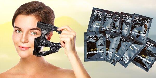 10 x pleťová maska PILATEN s aktívnym uhlím